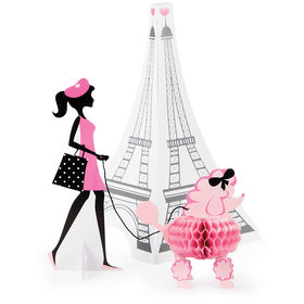 Paris Eiffel Tower 3D Centerpiece (Each)