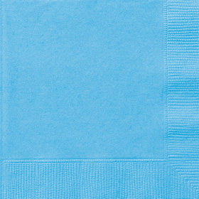 Light Blue Luncheon Napkins (20 Count)