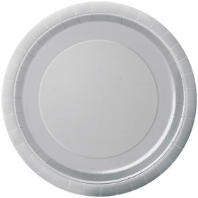 Silver Cake Plates (20 Count)