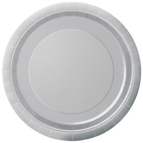 Silver Luncheon Plates (16 Count)