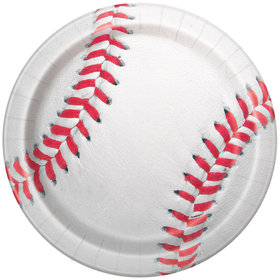 "Baseball 9"" Lunch Plates (8 Count)"