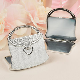 Purse Design Mirror Compact