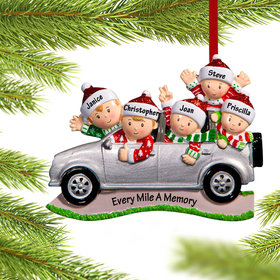Personalized SUV Family of 5