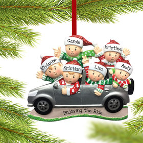 Personalized SUV Family of 6