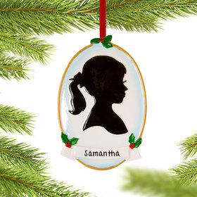 Personalized Silhouette Girl