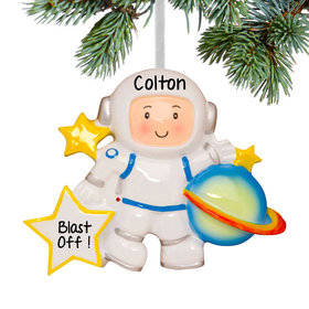 Personalized Space Astronaut with Planet