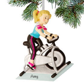 Personalized Spin Class Rider