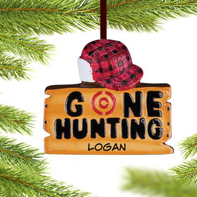 Personalized 'Gone Hunting'
