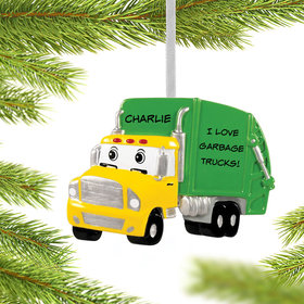 Personalized Garbage Truck