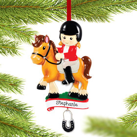 Personalized Horse Rider