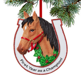 Personalized Brown Horse