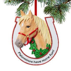 Personalized Blonde Horse