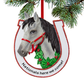 Personalized Grey Horse