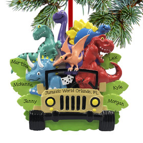 Personalized Dino Family of 6