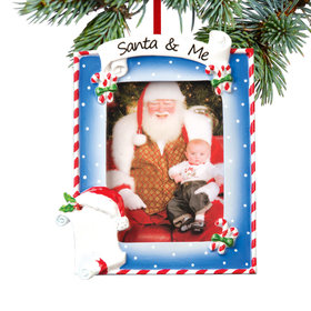Personalized Santa & Me Picture Frame