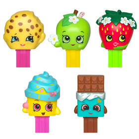 Shopkins PEZ Candy Packs (6 Count)