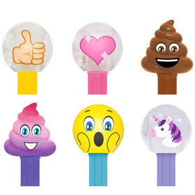Emojis PEZ Candy Packs (6 Count)