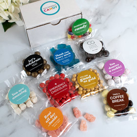Personalized Add Your Logo Care Package Candy Gift Box