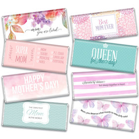Mother's Day Candy Gift Box Hershey's Chocolate Bars (8 Pack)