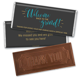 Personalized Quarantine Back to the Grind Chocolate Bars