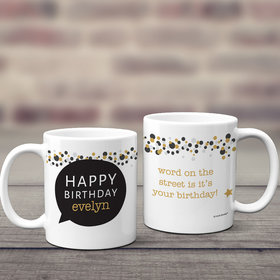 Personalized Coffee Mug Birthday Gifts (11oz)