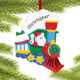 Personalized Santa Train