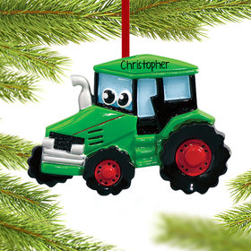 Personalized Tractor with Eyes