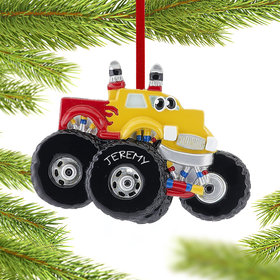 Personalized Monster Truck with Eyes