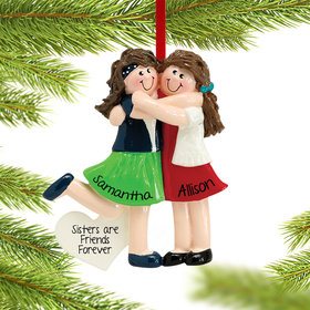 Personalized Two Friends or Sisters