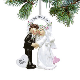 Personalized Arch Bride & Groom