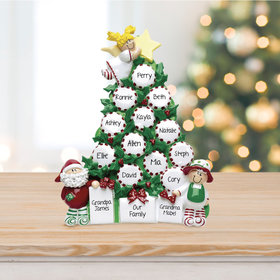 Personalized Peppermint Tree Up To 15 Table Decoration