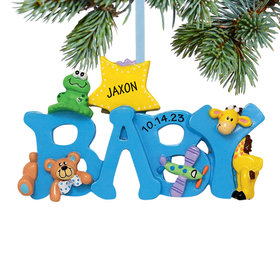 Personalized Baby Letters - Boy