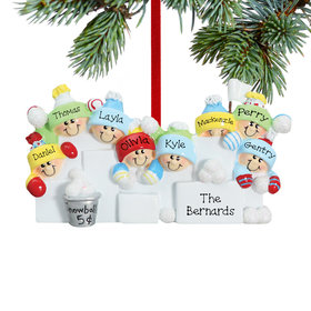 Personalized Snowball Fight 8