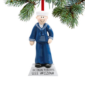 Personalized Navy Service Military Man
