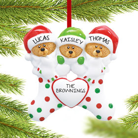 Personalized Stocking Bears 3