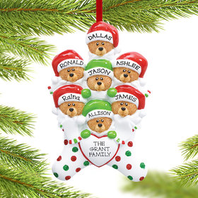 Personalized Stocking Bears 7