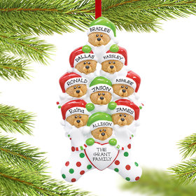 Personalized Stocking Bears 9