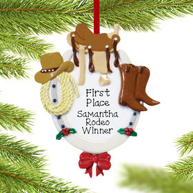 Personalized Western Horse Rider