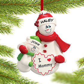 Personalized I Love Mommy 1 Child