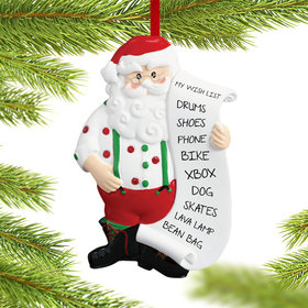 Personalized Santa Wish List