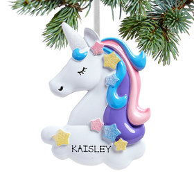 Personalized Pretty Pastel Unicorn