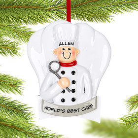 Personalized Chef Guy Christmas