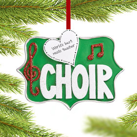 Personalized Choir Christmas