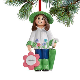 Personalized Loves Gardening Christmas