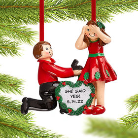 Personalized Proposal Christmas