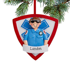 Personalized EMT Guy Christmas
