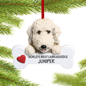 Personalized Labradoodle Christmas