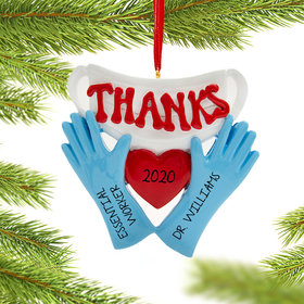 Personalized Our Thanks Gloves Quarantine