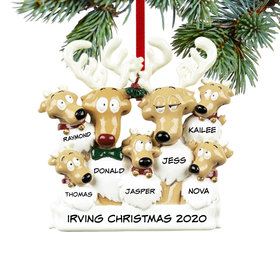 Personalized Reindeer Family 7