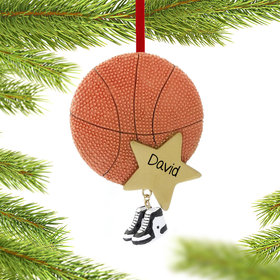 Personalized Basketball Star with Sneakers